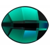 Swarovski Pure Leaf 2204 14x11mm Emerald